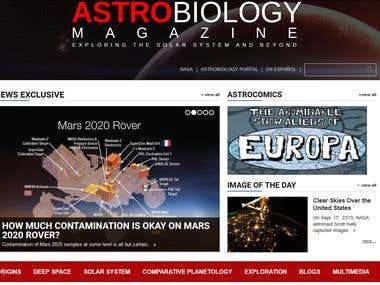 Astrobiology magazine