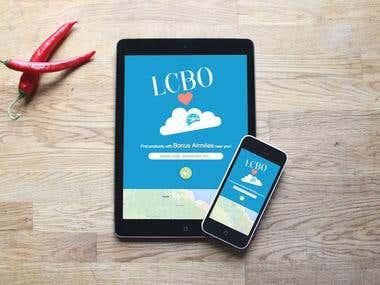 LCBO & AirMiles Web App