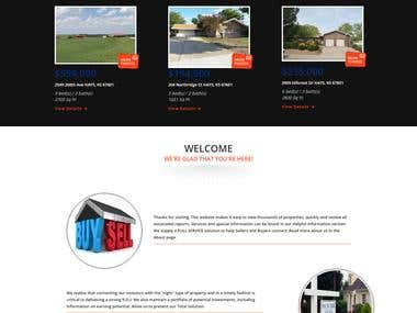 Wordpress Williams (Real Estate website)