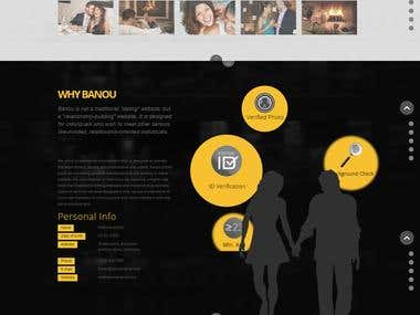 PHP Banou (Dating website)