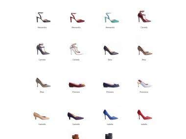 Woocommerce + Wordpress based Online Fashion Shoes Store