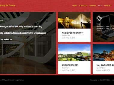 Responsive Real Estate Website