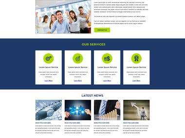 PSD to Joomla Template conversion