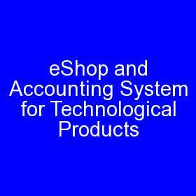eShop and Accounting System for Technological Products