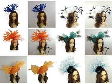 cropped pictures with feathers  and have white background