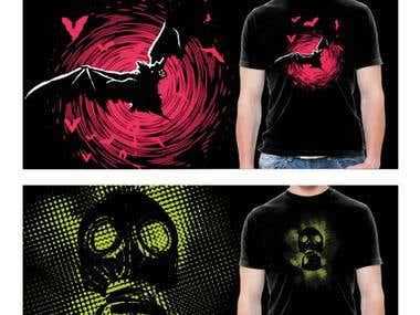 Creative Illustration T-shirts