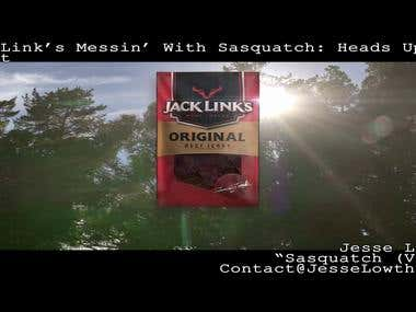 Jack Links Messin With Sasquatch - Heads Up