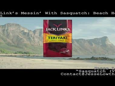 Jack Links Messin With Sasquatch - Beach Hole
