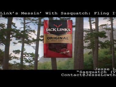 Jack Links Messin With Sasquatch - Fling It