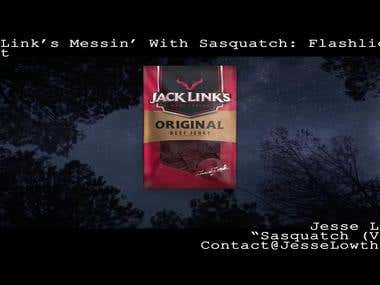 Jack Links Messin With Sasquatch - Flashlights