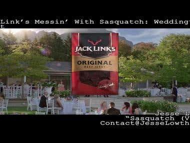 Jack Links Messin With Sasquatch - Wedding