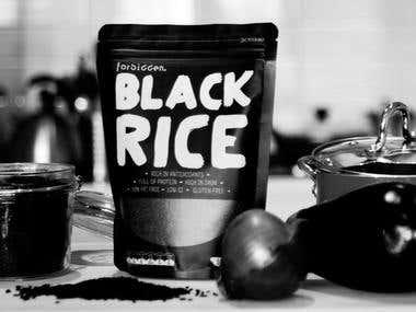 Forbidden Black Rice