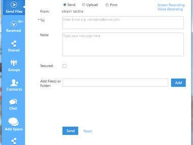Shareblu App & Desktop Application