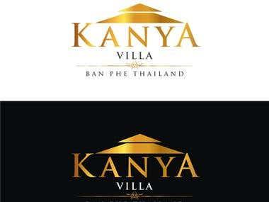 Kanya Villa Logo Design