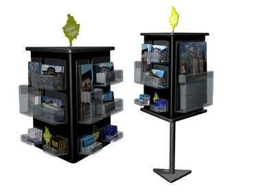 3d modeling - shelves