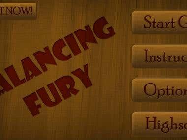 Balancing Fury - Flash game