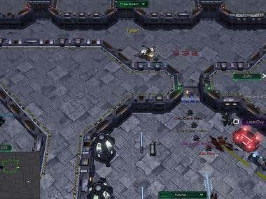 The Thing game in SC2 engine