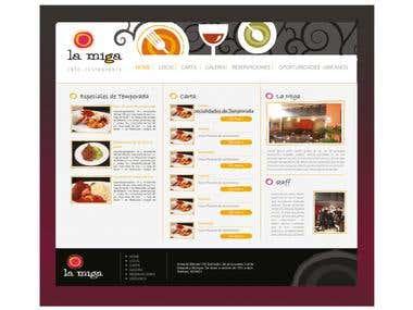 La MIga - Website