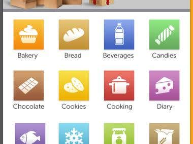 Iphone & Android Application for Ecommerce Marketplace.