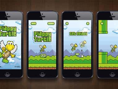 Flappy Turtle Game Design