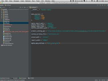 Python Script For Sales Report