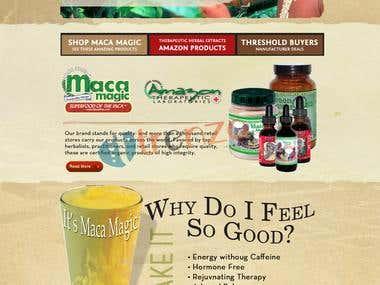 Herbs America | A BigCommerce Powered Energy Shop