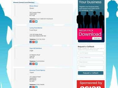 business directory website