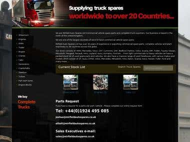vehicle spare parts website