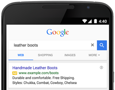 Adwords Structured Snippet Extension