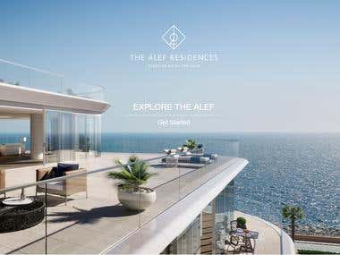 The Alef Residence Website
