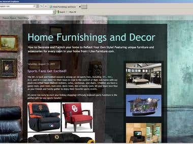 Home Furnishings and Decor Blog on Blogger