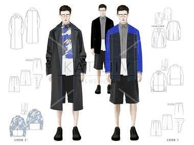 graduate collection illustrations