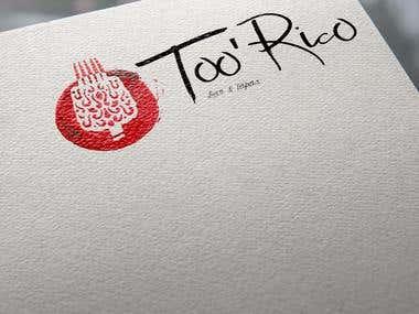 Too\' Rico logo proposal