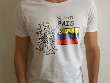 Construye tu país al estilo Keith Haring