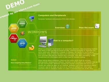 eLearning demo module