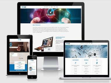 FirstLogic Responsive Website (Fully Responsive Website)