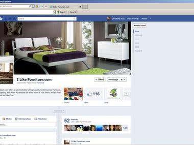 Facebook for Business I Like Furniture.com