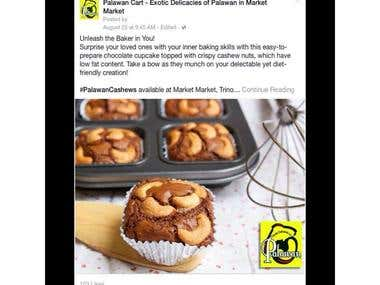 Facebook Marketing - Food
