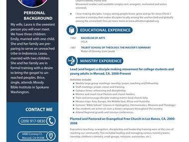 Resume Design - 2