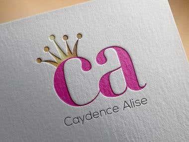 Logo Design- Caydence Alise
