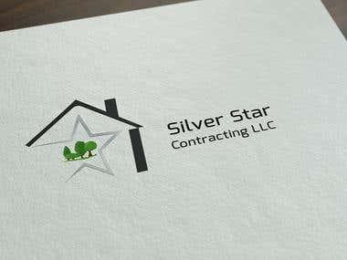 Logo Design- Silver star