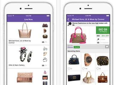 Lift Style Shopping app
