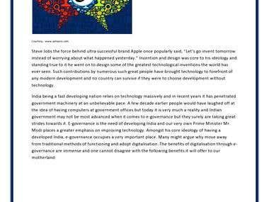 Article on Digital India