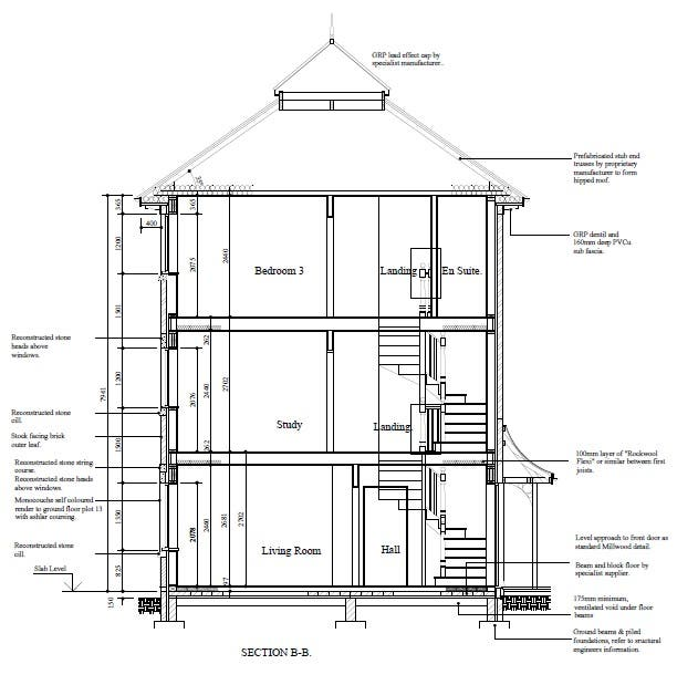 Sectional Elevation Construction Drawing Freelancer
