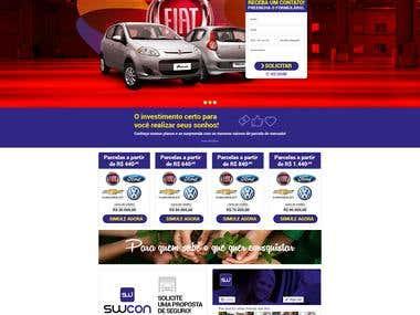Car buy hotsite