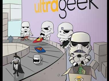 Stormtroopers illustration