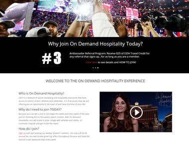 On Demand Hospitality - Experiences of Lifetime