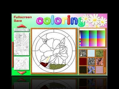 Children Coloring App