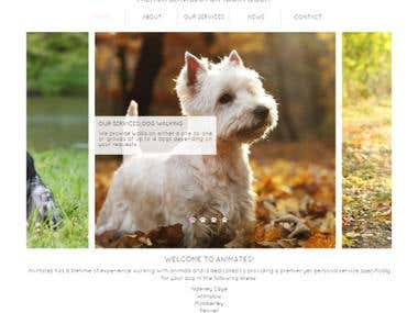 Animates | Premier Services for Your Pooch