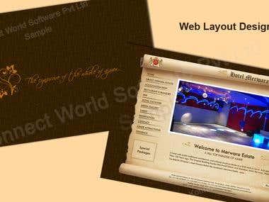 Web Layout Designing